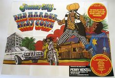 Lot 33 - The Harder They Come (Jimmy Cliff) 1972 Film Poster UK Quad in very good folded condition.