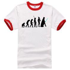 Starwars darth vader evolution mens t shirts 2017 summer brand clothing 100% cotton o neck harajuku drake tops streetwear homme
