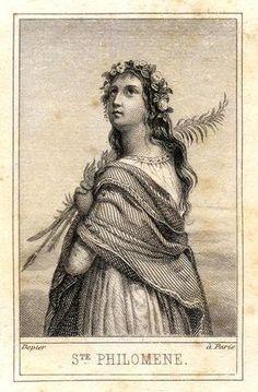 Santa Filomena: Filha Predileta da Santíssima Virgem Maria e grande milagreira.
