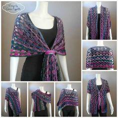 ~ Unique Multi Wear Wrap ~ free pattern