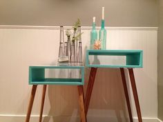 Mid Century Modern Side Table - also a great idea of a table to make