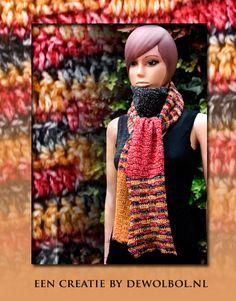 Nieuw design sjaal velvetta  met gratis patroon #scheepjeswol #scheepjesvelvet