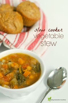 Slow Cooker Vegetable Stew | Healthy Ideas for Kids
