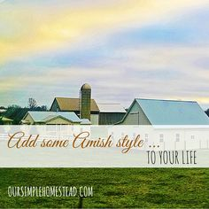 How can a society that moves so fast, have the opportunity to be anything they want to be, go anywhere they desire but still feel so very empty? What is it that we find so fascinating about the Amish?