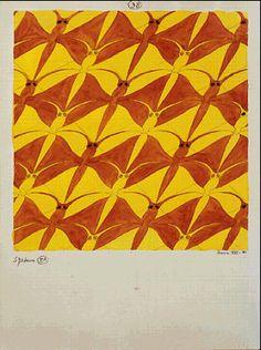 M.C. Escher – Dragonfly (No. 38)
