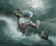 Poseidon (Neptune) - Greek God of the Sea. | Greek Mythology Pantheon