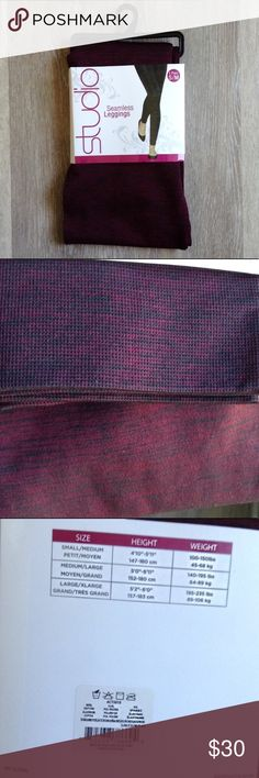 NEW🎈Maroon Seamless Leggings. NEW🎈Maroon Seamless Leggings. Studio Seamless Leggings. Maroon-Plum-Wine color. New in package with tags. Great thick quality. Comfortable. Breathable. Modern fit. Stretch material. Size Small to Medium. Make offer. Bundle & Save! Studio Pants Leggings