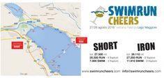 Swim Run Cheers tra Lago Maggiore e Lago di Mergozzo: la sfida