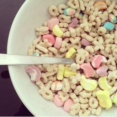 by Cooper McKenzie (May cereal - Lucky Charms I Love Food, Good Food, Yummy Food, Tumblr Food, Always Hungry, Morning Food, I Foods, Food Inspiration, Yummy Treats