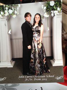 Prom 2013. #Camouflage #camo #dress #prom #love #couple #cute