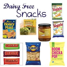 Everyday Love: Dairy Free Snacks. SO helpful...thank goodness.  I thought I was going to have to give up snacking!