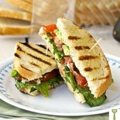 Grilled Sandwich with Spicy Aioli