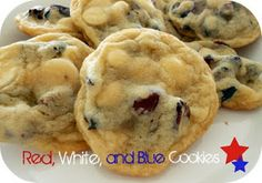 Summer cookies! Perfect for all those summer parties! #4thofjuly #patriotictreats