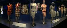 Her clothes on display
