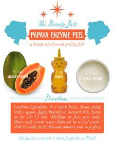 The Beauty Bets DIY Papaya Enzyme Peel — Mrs. Lilien