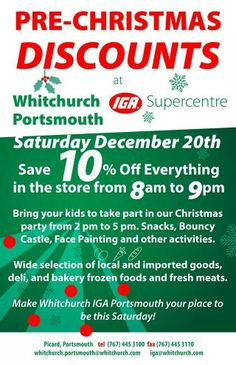 Whitchurch Portsmouth Christmas sale
