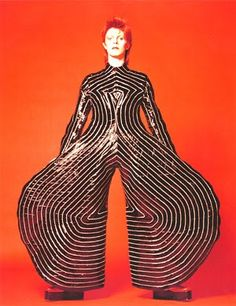 bowie. let's do this outfit. yes. do. you can't touch this , harem pants? actually for Bowie on Stage they are fine.
