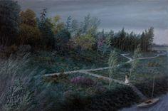 Aron Wiesenfeld - Bride, oil on canvas, 2014