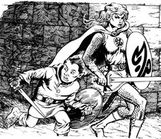 black and white D&D art - Google Search
