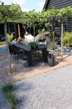 Gardening and outdoor living Outdoor Rooms, Outdoor Gardens, Outdoor Living, Outdoor Decor, Rogers Gardens, Outside Living, Garden Seating, Garden Inspiration, Garden Design