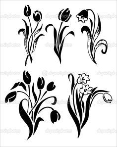 Image result for tulip tattoo