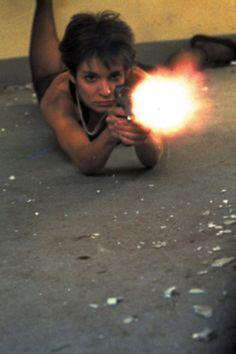 Anne Parillaud, La Femme Nikita (1990) via theactioneer and Mudwerks