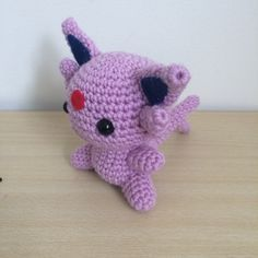 I wanted to work on some more Pokemon, and I've seen some great Eeveelutions so I decided to try my hand at my own. My first Pokemon game was Pokemon Silver on the Game Boy colour, and I accidentally. Pokemon Crochet Pattern, Crochet Patterns Amigurumi, Crochet Dolls, Crochet Yarn, Cute Crochet, Crochet Crafts, Crochet Projects, Amigurumi Free, Pokemon Plush