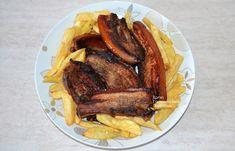 Πανσέτες στο γκριλ με βαλσάμικο και πορτοκάλι - cretangastronomy.gr French Toast, Bacon, Pork, Beef, Breakfast, Pork Roulade, Meat, Morning Coffee, Pigs