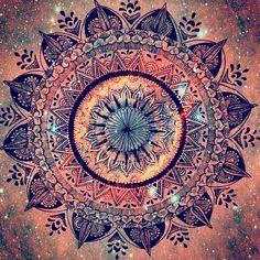 Magical Mandala art