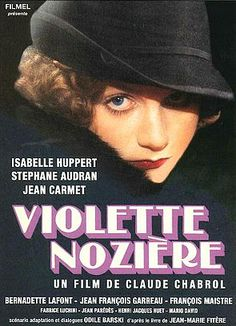 Isabelle Huppert in Violette Nozière Films Cinema, Cinema Posters, Film Posters, Epic Film, Film Movie, Isabelle Huppert Films, Stephane Audran, Film Mythique, Claude Chabrol