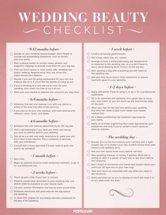 Everything you need to know beauty-wise if you're planning a #wedding.
