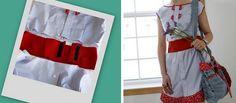 Este vestido puede ser muy original. Con un poco de tela extra e imaginación, vendrá muy bien para días de calor