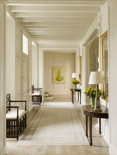 Things We Love:Entrance Hall Benches - Phoebe Howard Design