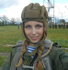 PromoMusic Europa: Esta hermosa soldado rusa revolucionó las redes so...