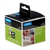 ETIQUETA TERMICA DYMO 70*54 COLOR BLANCO(320 ETIQUETAS) Etiquetas térmicas para rotuladoras DYMO label Writer 400,450, Turbo y Duo.  Blanco, cinta 70x 54mm.