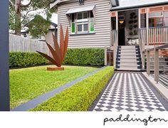 stair tread adoration  The Small Garden: paddington