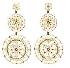 earrings Crochet Earrings, Bohemian, Pairs, Jewels, Jewellery, Crystals, Chic, Search, Fashion
