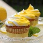 Lemonade Cupcakes  1 box Betty Crocker® SuperMoist® yellow cake mix 1 1/4 cups water 1/2 cup powder lemonade drink mix 1 stick of butter, softened 3 eggs