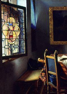 Jan Vermeer van Delft, The Glass of Wine (detail), ca. 1661 (x) Jan Vermeer van Delft, The Glass of Wine (detail), ca. 1661 (x) Johannes Vermeer, Delft, Rembrandt, Vermeer Paintings, Dutch Golden Age, Dutch Painters, Dutch Artists, Chiaroscuro, Renaissance Art