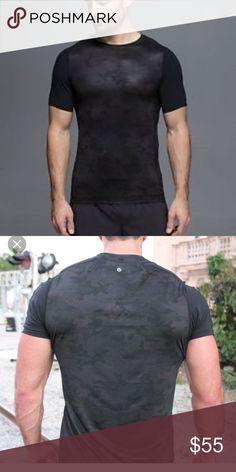 Men's lululemon Camo Compression Tee EUC Size small lululemon athletica Tops Tees - Short Sleeve