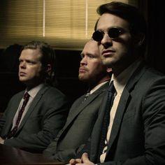 Nelson & Murdock Attorneys at Law Daredevil 2015, Daredevil Season 2, Daredevil Matt Murdock, Daredevil Punisher, Marvel Dc, Marvel Comics, Netflix Marvel, Tv Shows Funny, Marvel Drawings