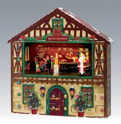 Mr Christmas Animated Musical Advent House * Learn more evaluations of the item by going to the web link on the photo. (This is an affiliate link). Advent Calendar House, Nativity Advent Calendar, Advent Calenders, Mr Christmas, Diy Christmas Gifts, Christmas Chocolate, Christmas Scenes, Christmas Treats, Christmas Stuff