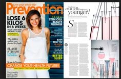 PREVENTION Magazine Australia wrote and article on stem cell technology used in the LUMINESCE skin care range. Stem Cell Research, Walking Plan, Pimples Remedies, Stem Cells, Anti Aging Skin Care, Cleanser, Serum, Athletic Tank Tops, Pure Products
