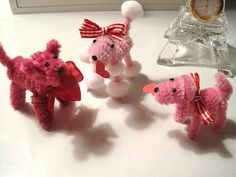 Creative Breathing: Pipe Cleaner poodles
