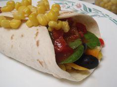 Simple Quinoa Bean Burrito and Salsa  http://shrutidfoodi.com/2012/12/06/simple-quinoa-bean-burrito-and-salsa/