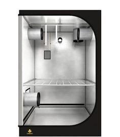Solide Box, gute Ausstattung. Grundfläche: 120cm x 120cm Töpfe (Empfehlung): max. 25 Töpfe von je 11 Liter Licht (Empfehlung): 600W NDL oder 1000W NDL oder 1x hydroca 416W LED Abluft (Empfehlung): 125er Flansch Sink, Led, Home Decor, Sink Tops, Vessel Sink, Decoration Home, Room Decor, Vanity Basin, Sinks