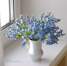 33 En Iyi Tutkalı Hamurdan çiçekler Görüntüsü Cold Porcelain Fimo