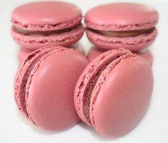 La Cuisine de Bernard: Les Macarons Chocolat Framboise