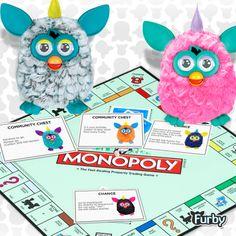 furbys playing monopoly