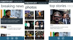 Firstpost Digital digital news application of Windows Phone 8 devices   Firstpost 's Digital is a popular Indian news website owned by the network and the application of the 18 official Firstpost Media has released Windows Phone 8 devices - 1.0.0.0. The application provides the latest news, views and analysis on the world around news and current affairs in India and the world. You can view the photo gallery, you can read the blog posts and videos on the network news channel.